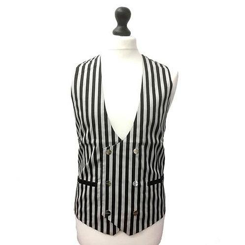 Jawbreaker Pin Stripe Waistcoat