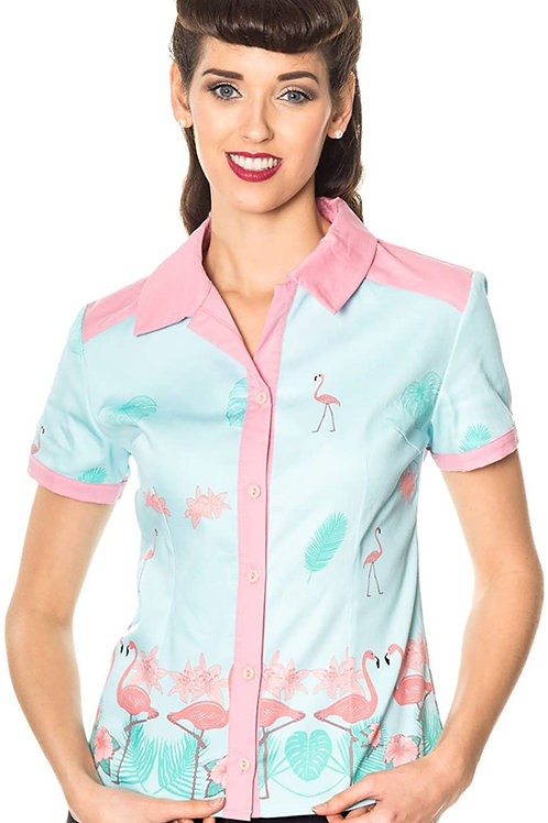 Banned Retro Going My Way Vintage Retro Blouse