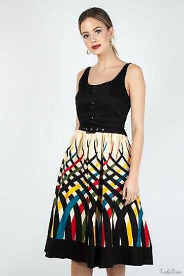 Voodoo Vixen Emma Border Skirt