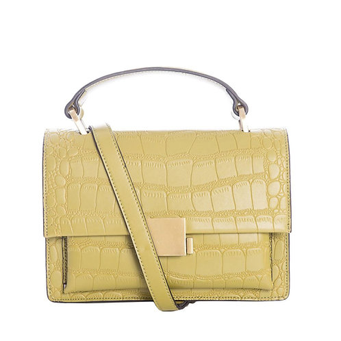 Banned Retro Modern Retold Green Satchel