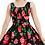 Thumbnail: Voodoo Vixen Finley Black Floral Dress