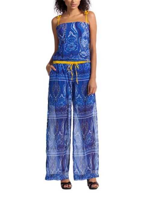 Desigual Nerea Blue Paisley Jumpsuit