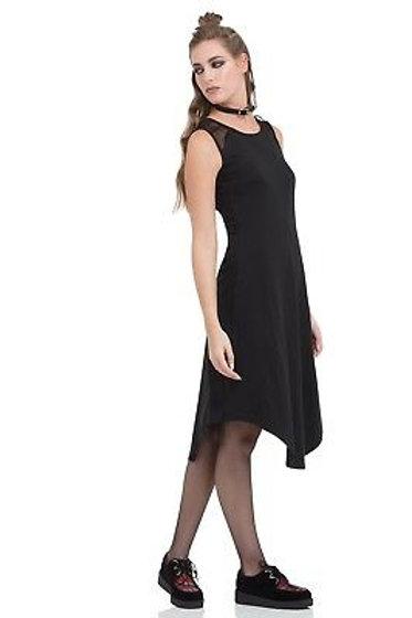 Jawbreaker Black Mesh Top Dress