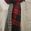 Thumbnail: Wool Blend Tartan/Plaid Reversible Scarf
