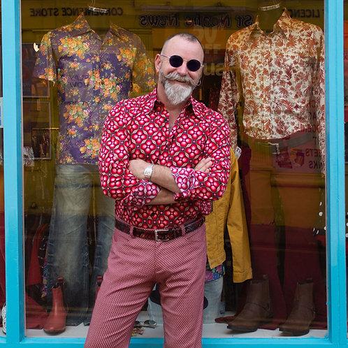 Chenaski Dots & Grids Shirt