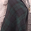 Thumbnail: Wool Blend Green Tartan/Plaid Reversible Scarf