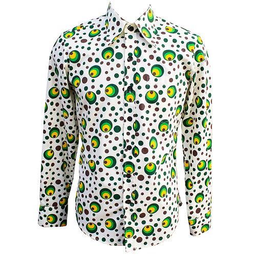 Chenaski 70s Green Eyeball Shirt