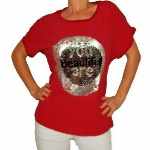 Desigual Bolonia Sequin T-Shirt