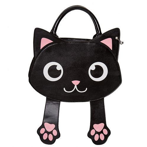 Banned Alternative Bag Of Tricks Cat Handbag