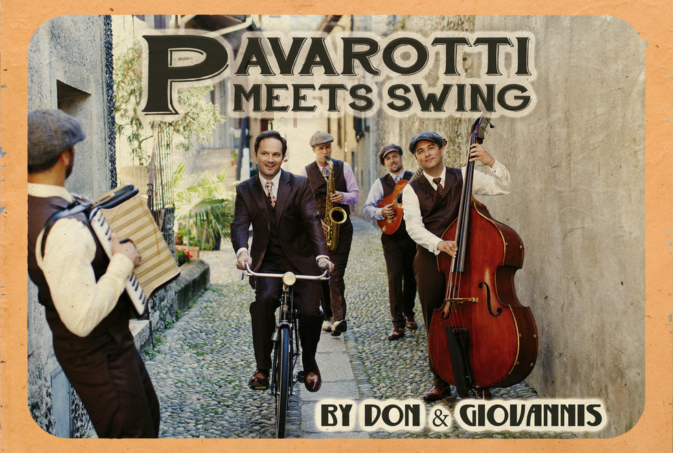 Pavarotti meets Swing