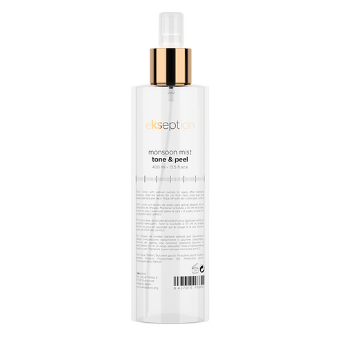 Monsoon Mist Tone & Peel 400ml