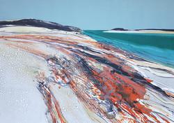 Landing Beach in Winter - Samson