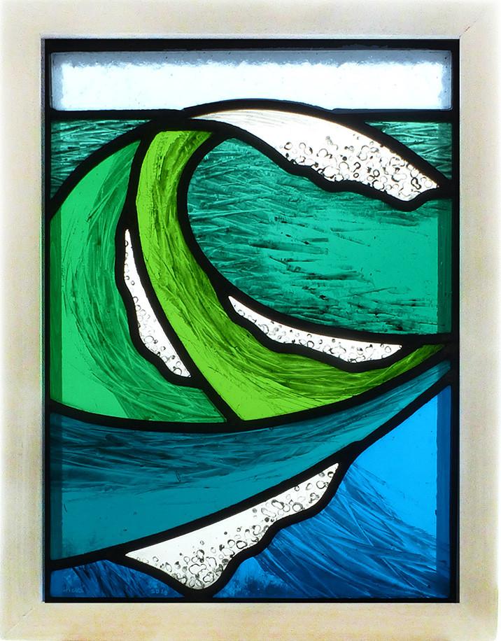 Wave design panel