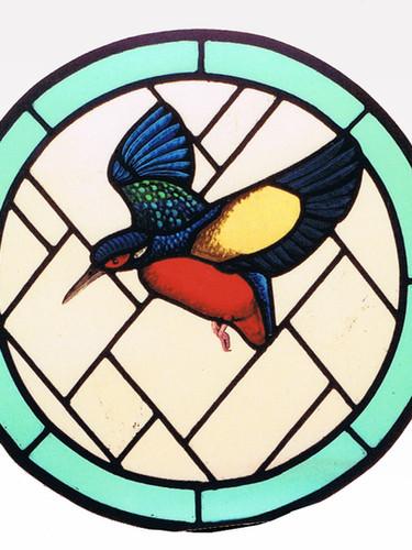 Kingfisher window