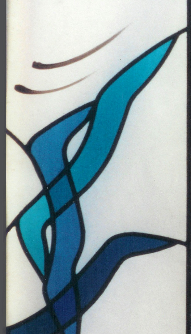 "Stained Glass window  ""Air"""