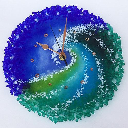 """Brandysnap"" picture clock"