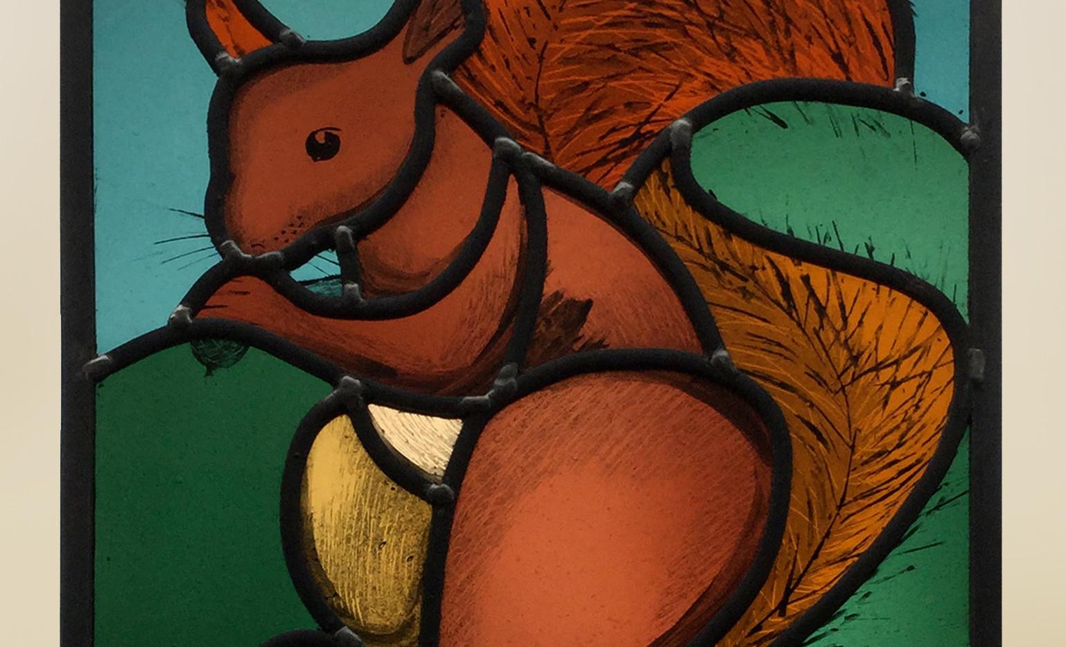 Tresco squirrel panel