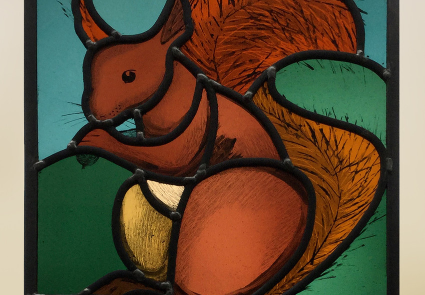 Tresco squirrel panel