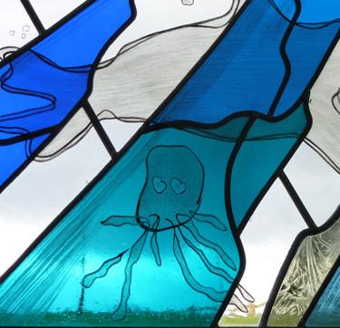 Detail, hospice window