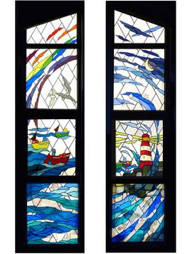 Windows in Children's Hospice.