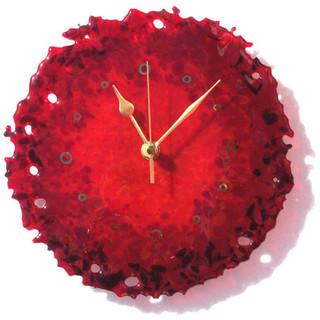 """""""Brandysnap"""" clock"""