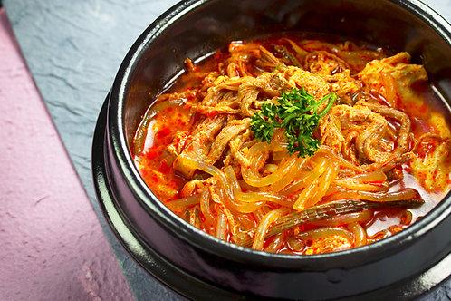 육계장Spicy beef tang辣牛肉汤 650gr