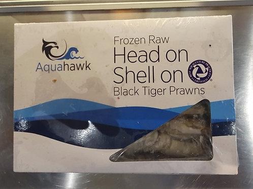 검정왕새우 Black tiger prawns 2kg