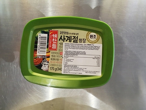 사계절(순창) 쌈장 170gr Mild ssamjang for small