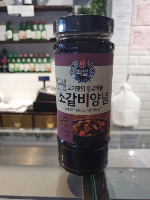 소갈비 소스 Galbi sauce for beef