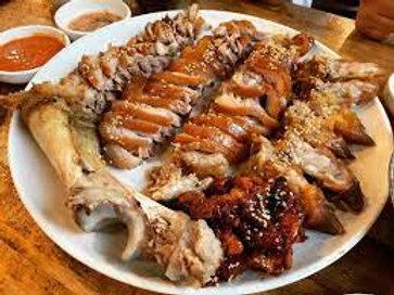 족발 Korean style pork feet 猪蹄