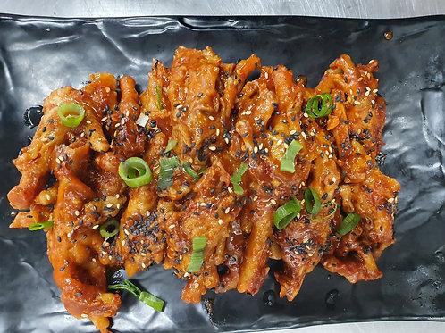 Spicy chicken paws  매운 닭발 600gr