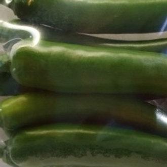 청고추 Green peppers