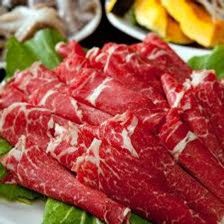 소불고기용 어깨살 Slice blade 腌肉的牛颈肉 600gr