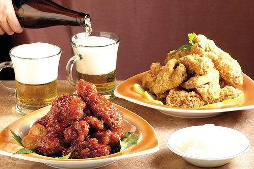 치맥 Chicken & Beer 啤酒炸鷄 set 4beers