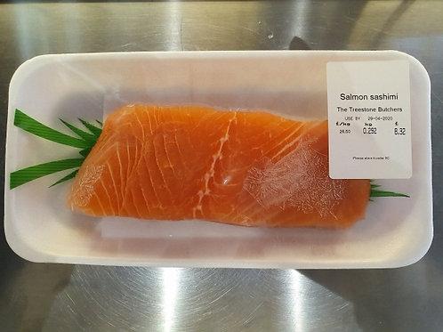 사시미용 연어, fresh salmon for sashimi