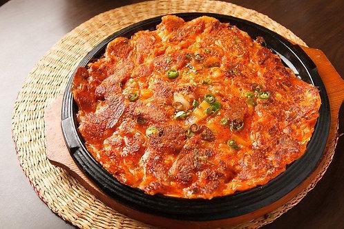 김치전 Kimchi pancake 泡菜煎饼