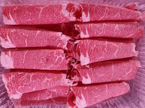 꽃등심 샤브샤브Ribeye Shabu 火锅用的肋眼肉片 500gr