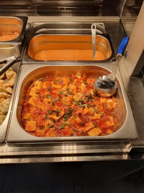 마파두부( Spicy &sour tofu), 커리소스(Curry sauce)