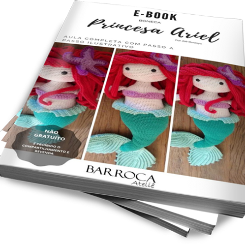 E-BOOK DA PEQUENA SEREIA - ARIEL