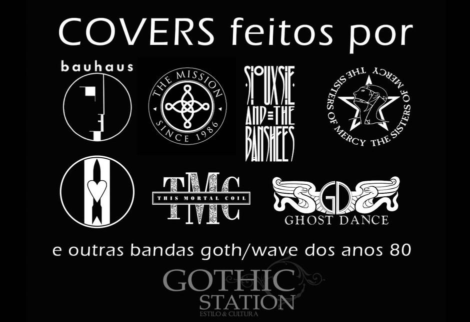 Covers feitos pelas primeiras bandas Goth/DarkWave