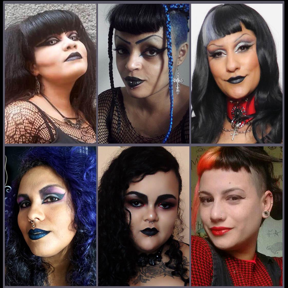 Entrevista com 6 Youtubers Góticas sobre Preconceitos e Agressões que Sofrem