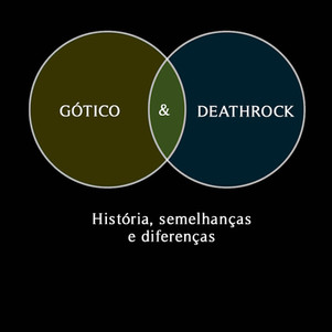 GÓTICO X DEATHROCK: história, semelhanças e diferenças