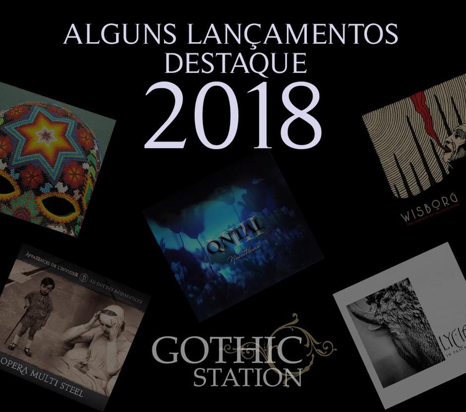 ALGUNS ÁLBUNS DESTAQUE DE 2018: