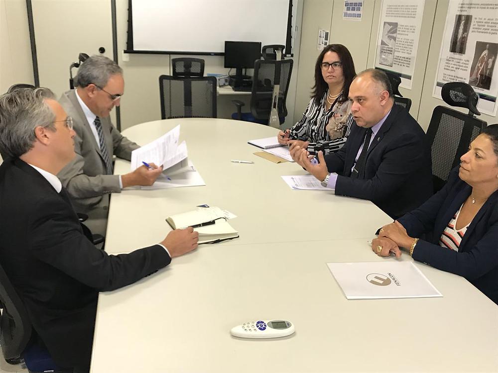 Reunião do dia 14 de junho com Subsecretário de Fiscalização da Receita Federal, Iágaro Jung Martins