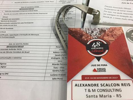 T&M presente no 48º encontro de empresários GBrasil