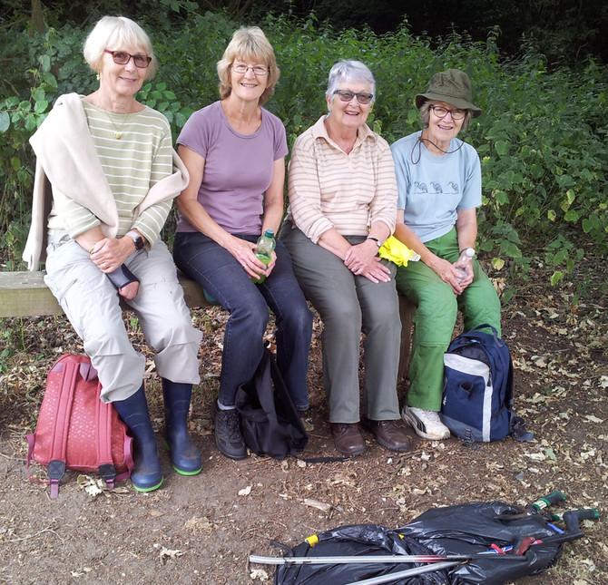 Corton Woods Group Lowestoft - Amazing Volunteers - Earth Warriors!