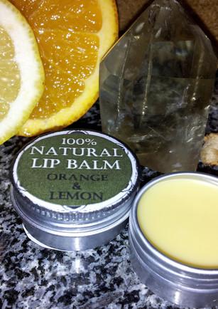 Orange and Lemon Lipbalm