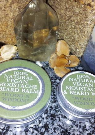 Moustache and Beard Wax Set