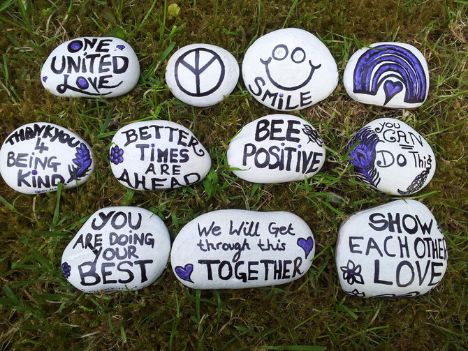 Found a Positivity Stone from Sunrise2Sunset? Stay POSITIVE! List of Helpful websites if needed!