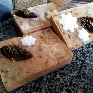 Pine and Snowflake Soap Sunrise2Sunset